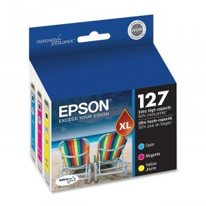 Epson T127520 DURABrite Ultra Color Combo Pack Extra High Capacity Cartridge Ink