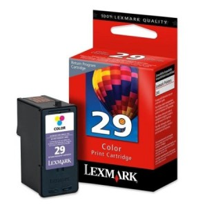 Lexmark 29 (18C1429) Color OEM Genuine Inkjet/Ink Cartridge - Retail