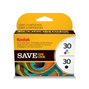 Kodak 30B/30C Combo Ink Cartridge - Black/Color - 1 Year Limited Warranty
