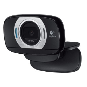 Original Equipment Manufacture Logitech HD Laptop Webcam C615 with Fold-and-Go Design, 360-Degree Swivel, 1080p Camera