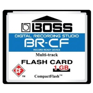 BOSS Audio 1GB Boss Roland BR-CF CompactFlash CF Memory Card for BR-600, BR-864, BR-900CD, MC-808