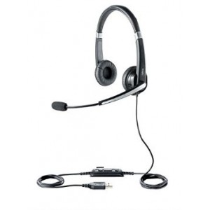 Jabra UC VOICE 550 Duo Corded Headset for Softphone