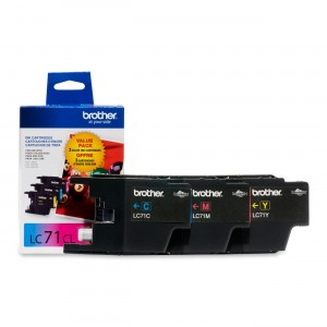 Brother Ink Cartridge, 300 Page Yield, 3 Pack
