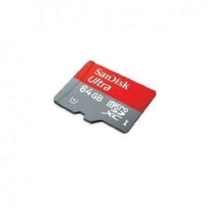 SanDisk 64GB Mobile Ultra MicroSDXC Class 10 Memory Card with SD Adapter - Retail Packaging