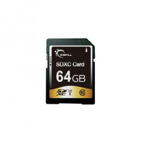 G.Skill 64GB Secure Digital Extended Capacity (SDXC) Memory Card (FF-SDXC64GN-U1)