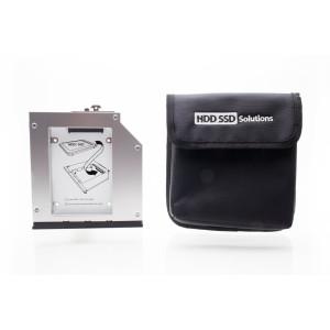 2nd HDD/SSD caddy HP Elitebook 8560w, 8570w, 8760w, 8770w Upgrade Bay (Original Newmodeus Product)
