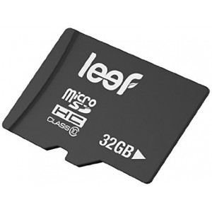Leef 32GB microSD Class 10 Flash Memory Card [Personal Computers]