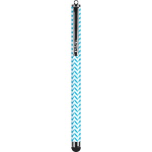 Targus Patterned Stylus for iPad, iPhone, iPod, Samsung Tablets, Smartphones and Other Touch Screen Devices, Blue Chevron (AMM01B23US)