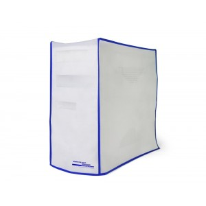 Computer Dust Solutions, LLC Computer Dust Solutions CPU Dust Cover, Covers PC Case, Silky Smooth Antistatic Vinyl, Translucent