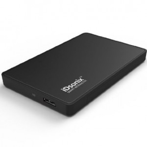 iDsonix USB 3.0 To 2.5-Inch Sata Case Lay Docking Station for 7mm to 9.5mm Slim 2.5 inch SATA HDD or SSD