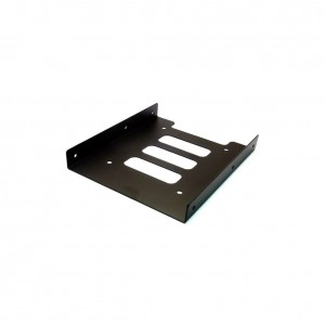 "Sienoc 2.5"" to 3.5"" SSD / HDD Adapter Bracket Mounting Kit Bracket Dock Hard Drive Holder Color Black"