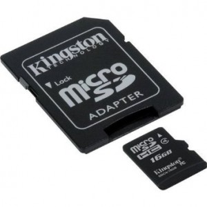 Transcend Samsung WB350F Digital Camera Memory Card 16GB microSDHC Memory Card with SD Adapter