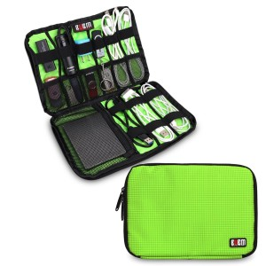 BUBM Damai Electronics Accessories Carry On Bag / Cable Organizer / USB Drive Shuttle / Hard Drive Case