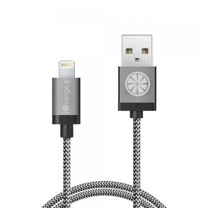 iPhone Charger, Apple Certified iOrange-E™3.3ft(1M) Charge and Data Sync Lightning Cable Braided for iPhone 6 6 Plus 5S 5C 5, iPad Air, iPad 4th Gen, iPad Mini and iPod Touch 5th Generation, Grey