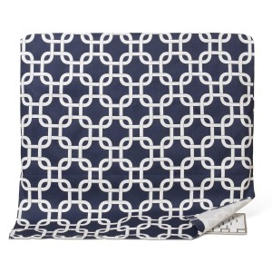 """Kuzy - Chain Navy Blue Full Cover for Apple iMac 27"""" Dust Cover, Display Protector (A1312 and A1419) and 27-inch Thunderbolt Display (A1316 and A1407) - Navy Blue"""