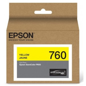 Epson UltraChrome HD Yellow Ink (T760420)