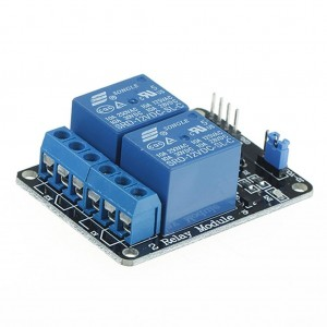 Atomic Market 5V Two 2 Channel Relay Module With optocoupler Compatible With Arduino PIC AVR DSP ARM by Atomic M
