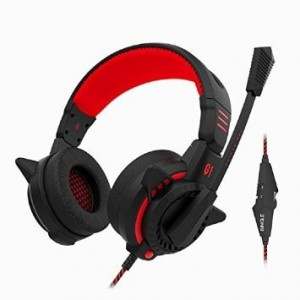 Darkiron Headset, Sound Intone G1 Pc Gaming Headset with Microphone, Over Headphones with Inline Volume Con