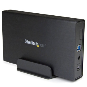 "StarTech.com USB 3.1 (10Gbps) Enclosure for 3.5"" SATA Drives - Supports SATA III (6 Gbps) - Quiet Fan-less Design - Up to 6TB Drive"