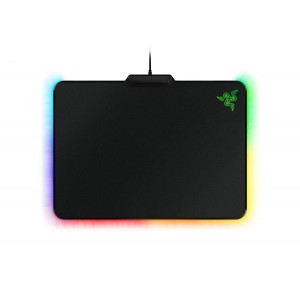 Razer Firefly - Hard Gaming Mouse Mat with Chroma Custom Lighting - Mouse Pad Preferred by Pro Gam