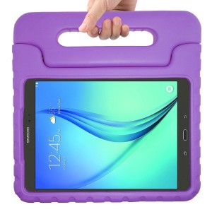 AVAWO Samsung Galaxy Tab A 8.0 Kids Case - AVAWO Light Weight Shock Proof Convertible Handle Stand Kids Friendly for Samsung Tab A 8-Inch Tablet, Purple