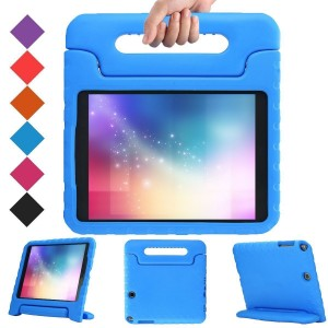BMOUO Samsung Galaxy Tab A 9.7 inch Kids Case - EVA ShockProof Case Light Weight Kids Case Super Protection Cover Handle Stand Case for Kids Children for Samsung Galaxy TabA 9.7-inch Tablet - Blue Color