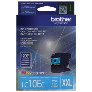 Brother Printer LC10EC Super High Yield Cyan Ink Cartridge