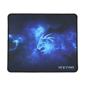 Jeecoo High-quality Natural Eco Rubber Gaming Mouse Pad, Non-slippery Rubber Base, Any DPI Speed M