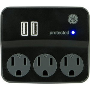 GE 11349 Surge Tap, 3 Outlets