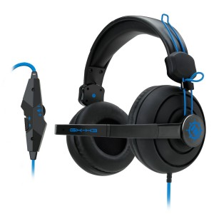 Accessory Power ENHANCE GX-H3 Stereo Gaming Headset with Over-Ear Headphones , Adjustable Mic and In-Line Volume C