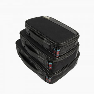 Khanka Universal Portable Travel Carrying Organizer Case Bag for Hard drive, Card Reader, USB Cable,Bluetooth Speaker,Power Bank Charager and Small Electronics Accessories (3/Set)