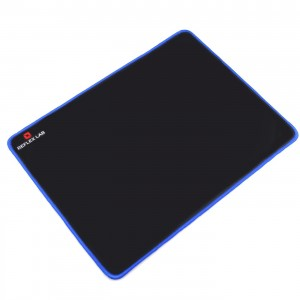 "Reflex Lab Blue Big Gaming Mouse Pad Mat, Stitched Edges, Waterproof, Ultra Thick 5mm, Silky Smooth-15""x11"" Mousepad"