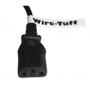 'Wire-Tuff' - Standard USA Power Cable / Cord for Computer / Printer / Scanner / TV / Projector / etc.