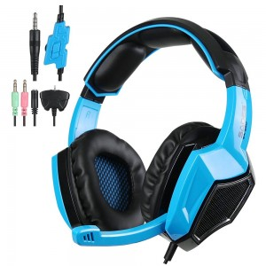 AFUNTA SA-920 Stereo Gaming Headphone for PS4 Xbox360 PC iPhone Smart Phone Tablet Laptop PC Computer MP3