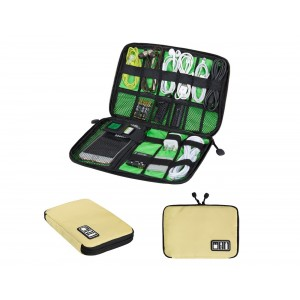 ECOSUSI Travel Organizer for Electronics Accessories Hard Drives