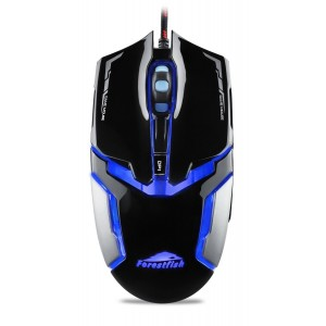 Goldwheat PC Gaming Mice, 4000 DPI 1000Hz USB Wired Professional Laser Optical Gaming Mouse with 4 Buttons M