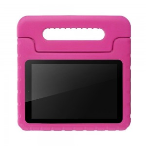 ANMANI Fire 7 2015 EVA Case - Kids Friendly Shock Proof, Convertible With Handle Stand Case for Fire 7 2015 Tablet (5th Generation - 2015 Release Only), Rose