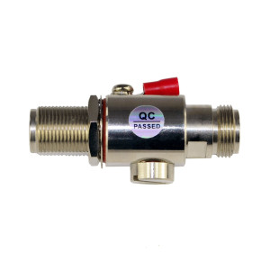 Proxicast Coaxial Lightning Arrester for 0 to 6 GHz (N-Female / N-Female)