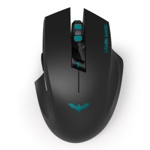 HAVIT HV-MS976GT 2.4Ghz Optical Wireless Gaming Mouse with 6 Buttons, 3 Adjustable DPI Levels ,USB