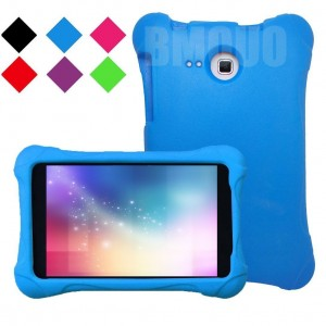 BMOUO Samsung Galaxy Tab A 7.0 Kids Case - EVA Ultra Light Weight Shock Proof Kids Friendly Case Cover for Samsung Tab A 7-Inch Tablet, Blue Color