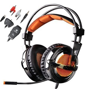 2016 NEW VERSION SADES SA-928S PS3 PS4 Xbox Headset With Microphone Stereo Lightweight Gaming Head