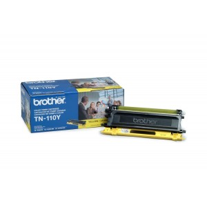 Brother TN-110Y Toner Cartridge, Yellow