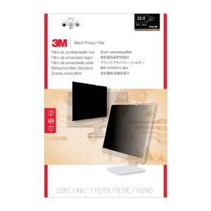 """3M Privacy Filter for Widescreen Desktop LCD Monitor 22.0"""" (PF22.0W)"""