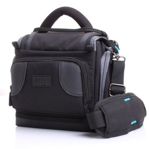 Accessory Genie Deluxe Digital SLR Camera Case Bag With Padded Interior Lining by USA Gear - Works with Nikon Cool