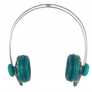 Sakar Headphones, Teal SPL2010-TEAL