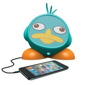 eKids Phineas and Ferb Rechargeable Character Speaker, DF-M662