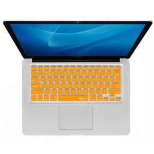 KB Covers Checkerboard Keyboard Cover for MacBook Air 13 (CB-M-Orange)