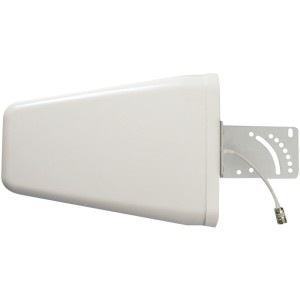 weBoost 700-2700 MHz Wide Band Directional Antenna with N Female Connector - Retail Packaging - White