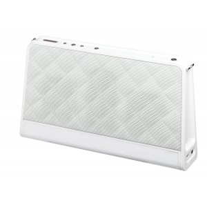 AR for Her Fashion Bluetooth Wireless Speaker - Quilted White, ARS140QTWH