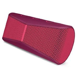 Logitech X300 Mobile Wireless Stereo Speaker, Red (984-000401)